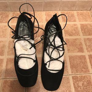 stuart weitzman 斯图尔特·韦茨曼绑带高跟鞋