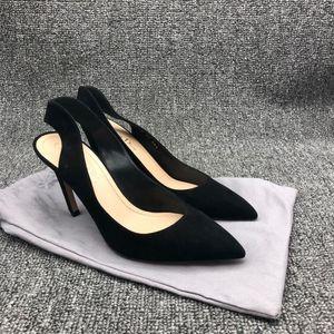 Dior 迪奥黑色高跟鞋