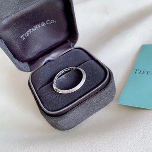 Tiffany & Co. 蒂芙尼pt950铂金戒指
