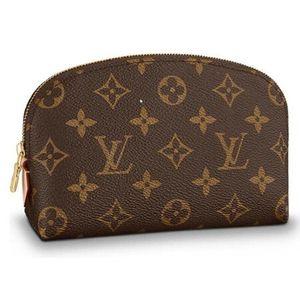 Louis Vuitton 路易·威登女款老花化妆包手拿包