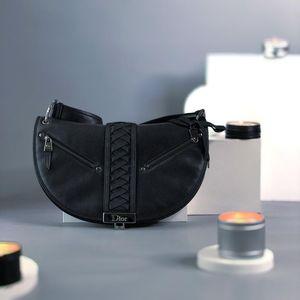 Dior 迪奥半月包中古单肩斜挎包