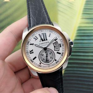 Cartier 卡地亚卡列博系列男士自动腕表