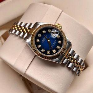 Rolex 劳力士日志型69173渐变蓝自动机械表