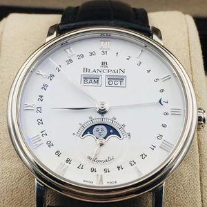 Blancpain 宝珀6263-1127-55B全历人脸月相男士机械腕表
