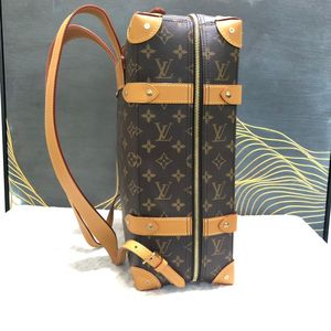 Louis Vuitton 路易·威登19FW秀款Soft Trunk小号双肩包