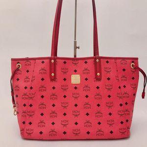 MCM MCM 双面双色购物袋托特手提包