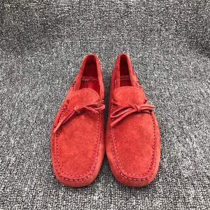 TOD'S 托德斯法拉利合作款男士豆豆鞋