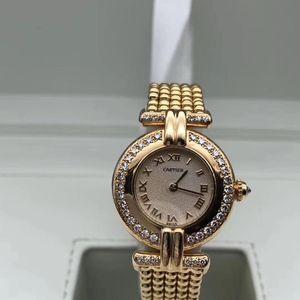 Cartier 卡地亚首饰款女士钻石腕表