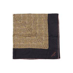LOEWE 罗意威现代艺术风撞色丝巾