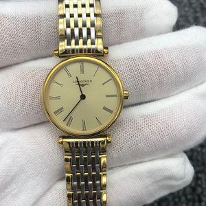 LONGINES 浪琴L4.209.2.31.7优雅系列女士石英腕表