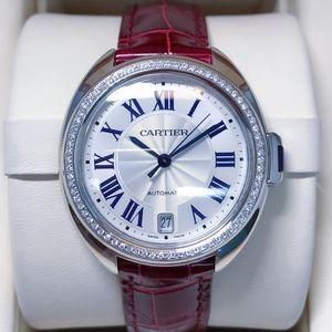 Cartier 卡地亚钥匙系列后钻女士自动机械腕表