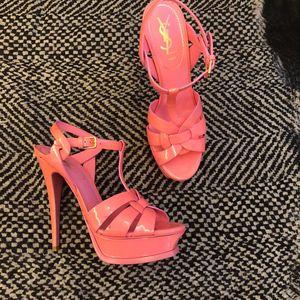 Yves Saint Laurent 伊夫·圣罗兰高跟凉鞋