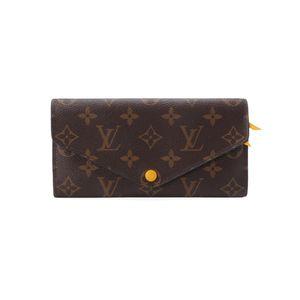 Louis Vuitton 路易·威登经典长款老花翻盖豆豆钱包