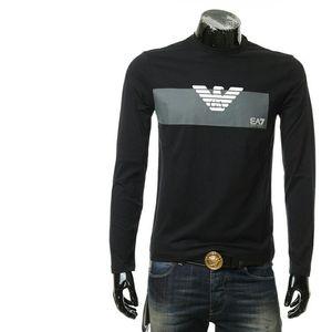 Emporio Armani 7 EA7 阿玛尼男士修身百搭长袖T恤