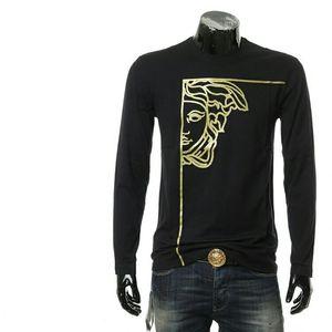 Versace 范思哲美杜莎男士长袖T恤