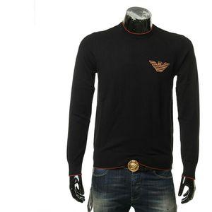 Emporio Armani EA 阿玛尼男士刺绣鹰标保暖针织衫