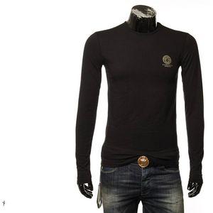 Versace 范思哲美杜莎男士舒适长袖T恤