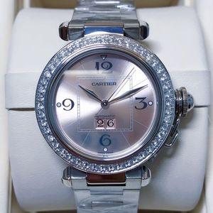 Cartier 卡地亚帕莎女士自动机械腕表