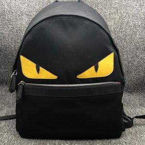 FENDI 芬迪男士黄眼睛小怪兽双肩包