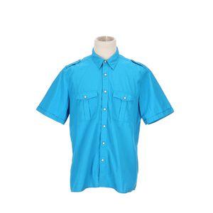 Burberry 博柏利蓝色衬衫
