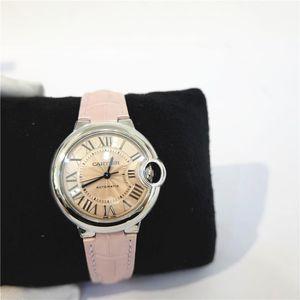 Cartier 卡地亚粉盘手表