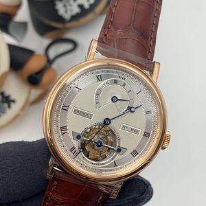 Breguet 宝玑经典复杂系列陀飞轮机械腕表