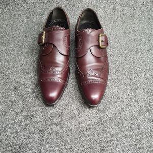 DOLCE&GABBANA 杜嘉班纳男士尖头皮鞋