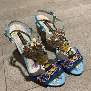 DOLCE&GABBANA 杜嘉班纳凉鞋高跟鞋