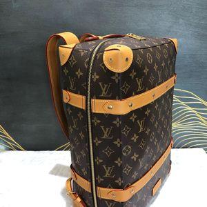 Louis Vuitton 路易·威登老花trunk双肩包