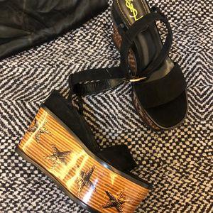 Yves Saint Laurent 伊夫·圣罗兰星星高跟鞋