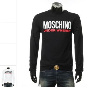 Moschino 莫斯奇诺男士简约百搭套头卫衣