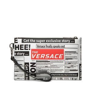 Versace 范思哲印花系列牛皮时尚收纳包