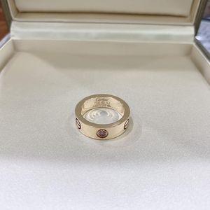 Cartier 卡地亚18K玫瑰金镶粉色蓝宝石戒指