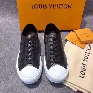 Louis Vuitton路易·威登经典棋盘格男士休闲鞋