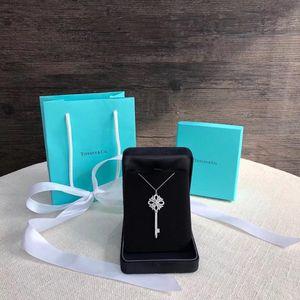 Tiffany & Co. 蒂芙尼大号满钻维多利亚铂金满钻项链