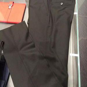 DOLCE&GABBANA 杜嘉班纳黑色男士纯羊毛修身西裤