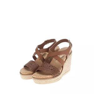 Ferragamo 菲拉格慕女士坡跟凉鞋