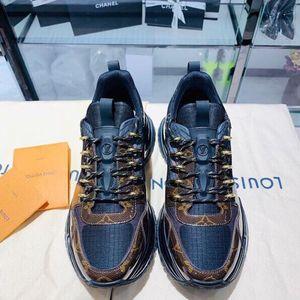Louis Vuitton 路易·威登老花拼色运动鞋