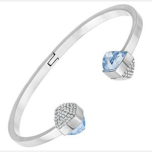 SWAROVSKI 施华洛世奇女士蓝色拼银色仿水晶手镯