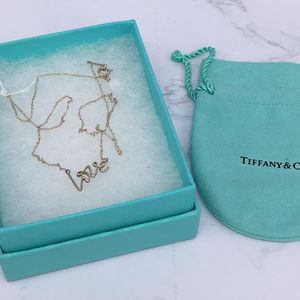 Tiffany & Co. 蒂芙尼love银项链