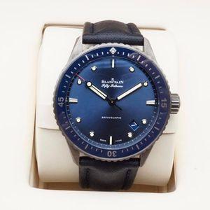 Blancpain 宝珀五十寻系列5000男士机械腕表
