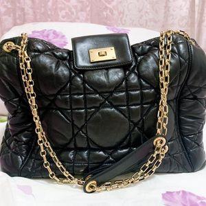 Dior 迪奥羊皮手提包