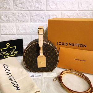 Louis Vuitton 路易·威登petite boite chapeau走秀款盒子手提包
