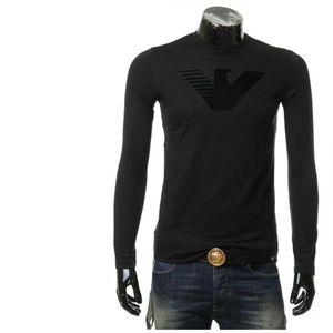 Emporio Armani EA 阿玛尼鹰标男士长袖T恤圆领上衣