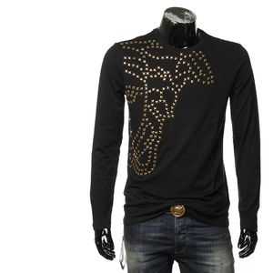 Versace Collection 范思哲美杜莎男长袖T恤
