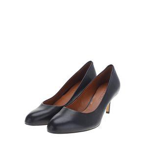COACH 蔻驰黑色低跟鞋