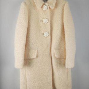 Miu Miu 缪缪女款毛呢大衣