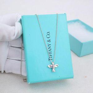 Tiffany 蒂芙尼925银和平鸽项链