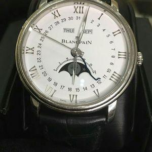 Blancpain 宝珀6654-1127-55B自动机械男士腕表