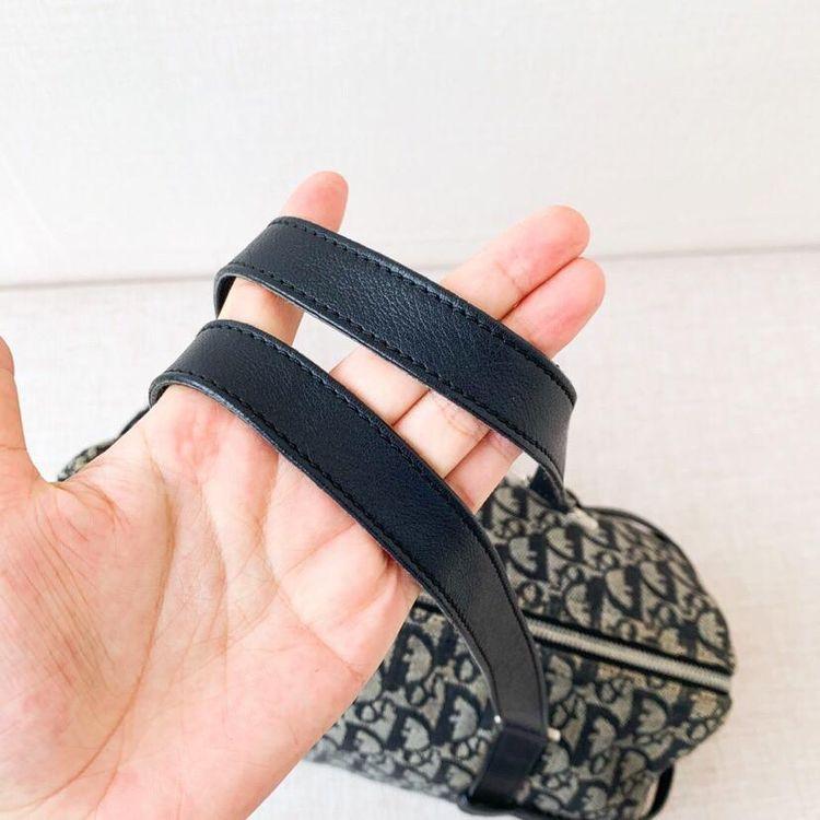 Dior 迪奥老花D扣手提单肩包细节图